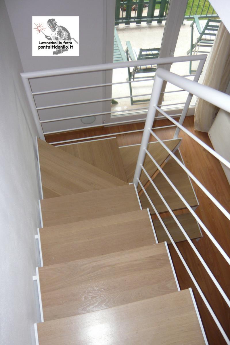 Colore Ringhiera Ferro Interna scale – pontalti danilo lavorazioni in ferro